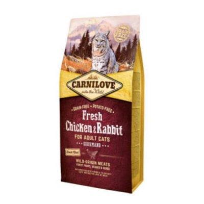 מזון חתולים קרנילאב עוף וארנבת