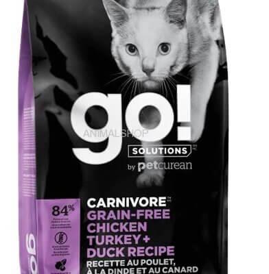 GO משובח ללא דגנים חתול פרמיום