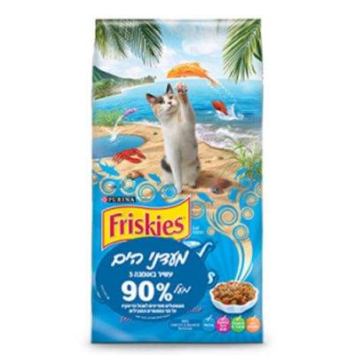 מזון חתול פריסקיז מעדני הים