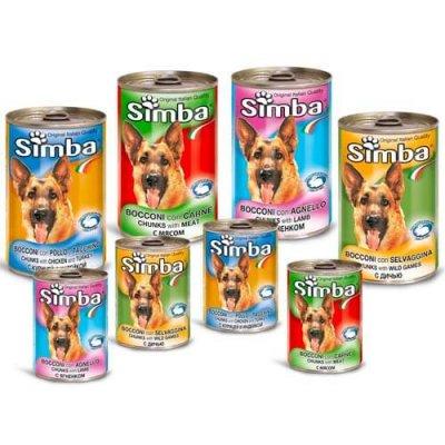 שימורי סימבה לכלב